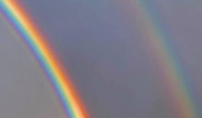 End of A Double Rainbow
