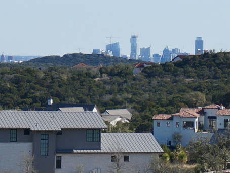 City & Hill Country Views
