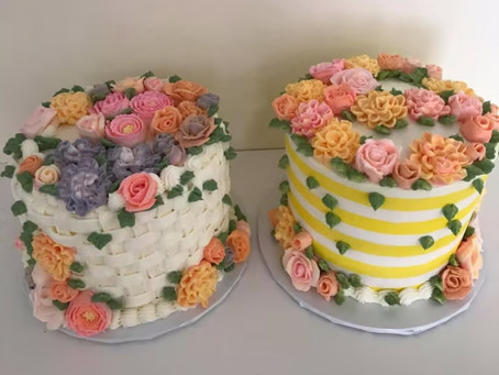 Intricate Tasty Looking Cakes