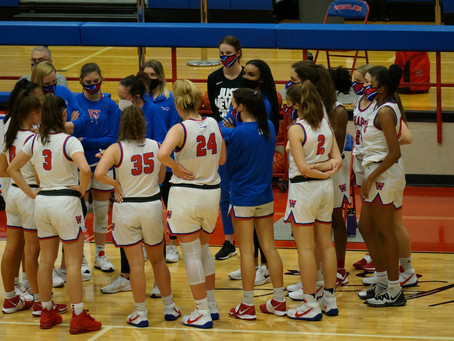 Lady Chaps Basketball 50, Temple 39