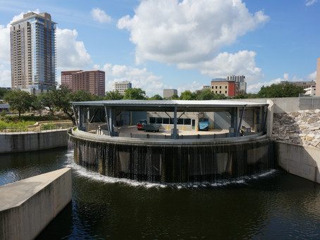 Water Works and Elevated Walkway