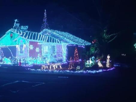 Christmas Lights in Antelope