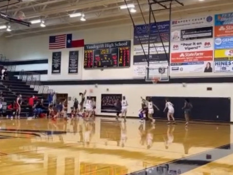 Last Minute Road Win for Lady Chap BBALL