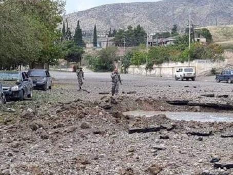 Nagorno-Karabakh.  Azerbaijan Seeks to Take Back Control of Territory Within Its Border
