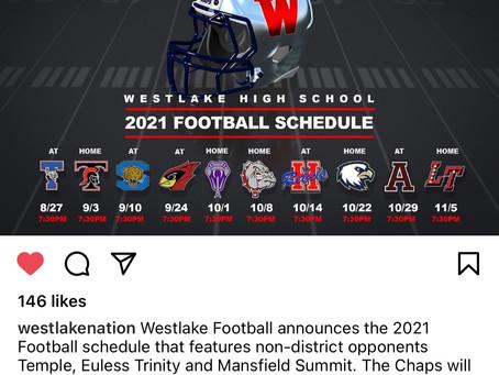 Chap Football 2021 Schedule Released