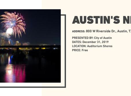 Fun and Free-Auditorium Shores NYE 7:30PM