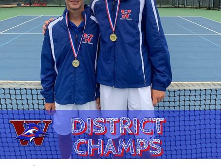 Westlake Chap Tennis-District Finals
