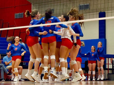 Westlake Volleyball Over Bowie