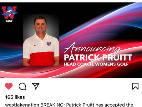 Patrick Pruitt new Lady Chap Linkster Coach