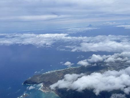 Coming into Honolulu