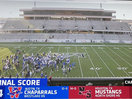 Chaps to D1 Final in a Thriller 24-21