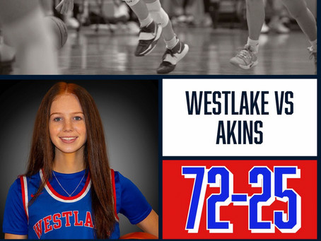 Lady Chaps Too Much for Akins 72-25