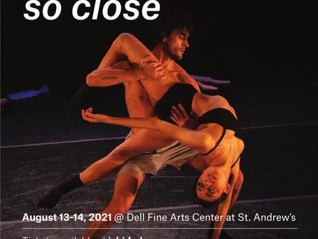 Live Modern Dance Returns-ISHIDA Dance Company August 13-14 Dell Fine Arts Center