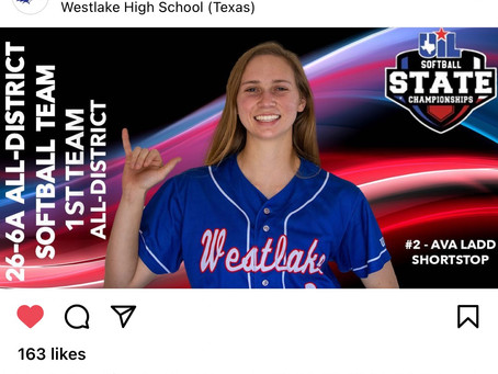 Westlake Softball Accolades