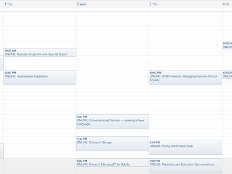 Westbank Calendar