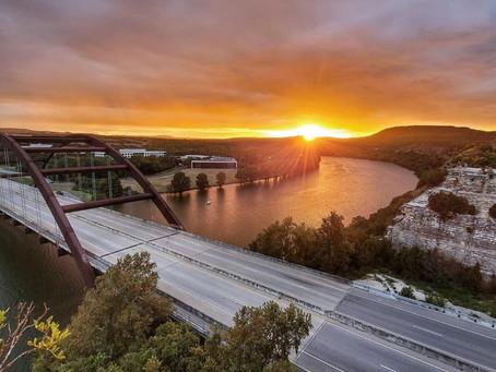 Sunset from Above 360 Bridge