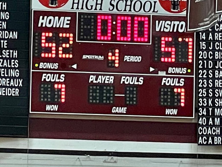 Lady Chaps BBALL Over Maroons 57-52