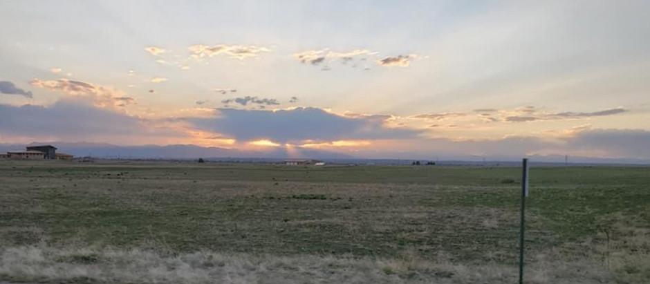 Plains Near the Rocky Mountains