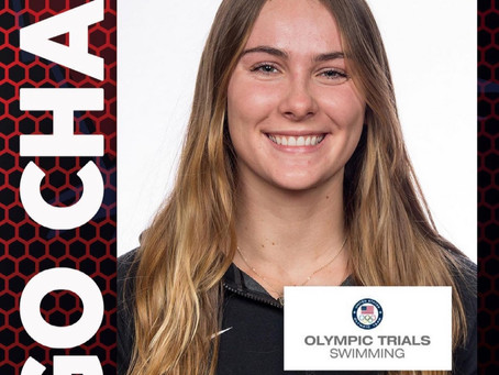 Emma Wheal and Dakota Luther US Olympic Swimming Trails-Good Luck!