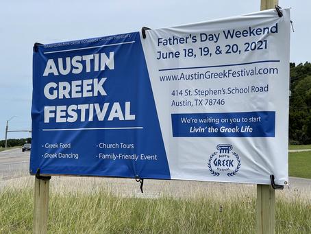 Austin Greek Festival Father's Day Weekend