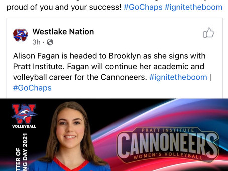 Westlake National Letter of Intent Signing Day Congratulations !!!