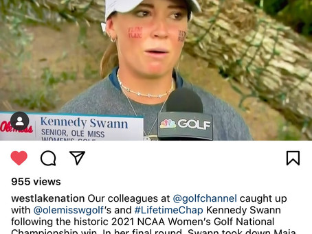 Linkster Kennedy Swann Helps Ole Miss To First Women's Championship In Any Sport