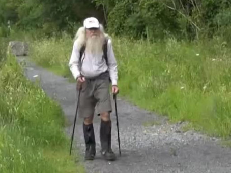 82 YO Man Hiking The Appalachian Trail