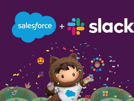 Salesforce Adds Capability Spending >$50B On Tableau, MuleSoft, Slack & Others