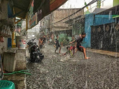 Showers in the Street