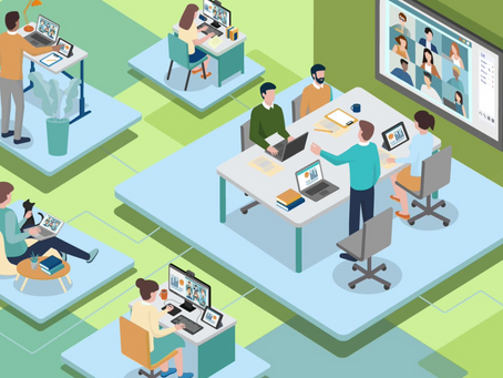 The Majority of Companies Will Be Hybrid Workplaces-The Business Journal Survey