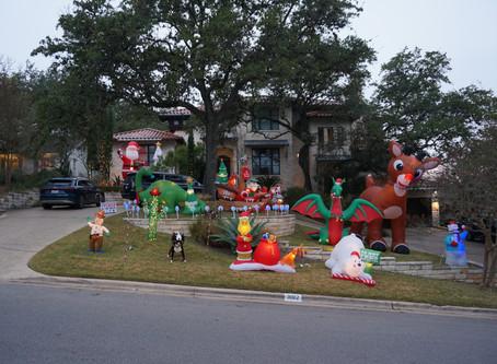 Christmas Lights and Yard Decoration