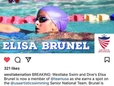 Elisa Brunel Joins Team USA!
