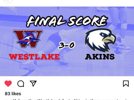 Westlake Volleyball 3 Akins 0