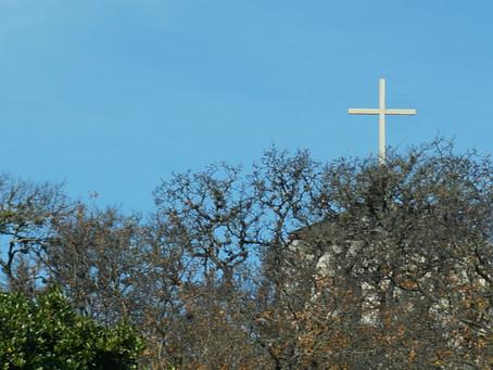 Cross in View