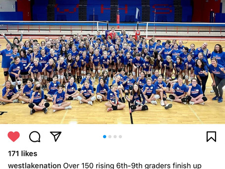 Chap Girl's Volleyball Camp