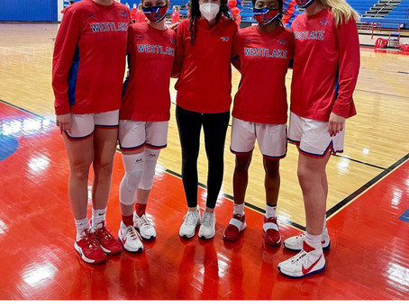 Lady Chap BBALL Prevail on Sr. Night