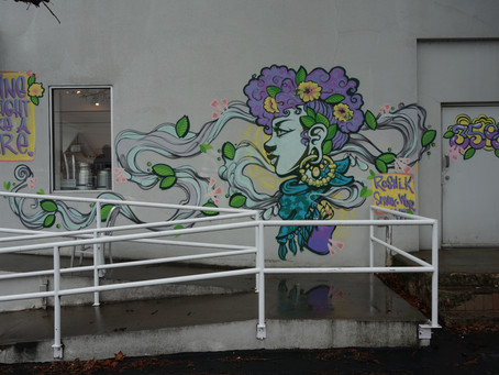 Mural on 35th