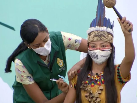 COVID Vaccine in the real Amazon