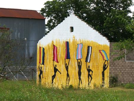 Pride Mural in Elgin, Texas