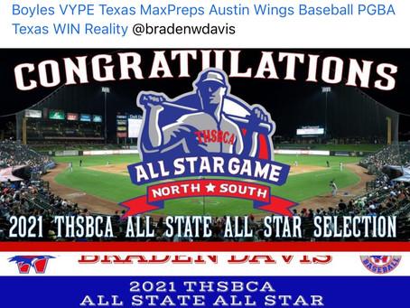 Braden Davis 6A All State All Star