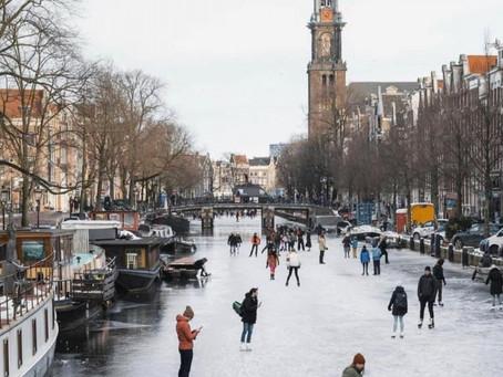 AmsterdamWinter Scene