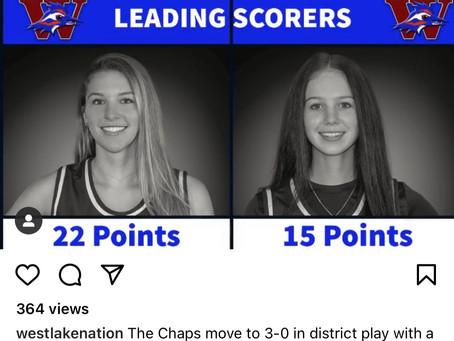 Westlake Chaps-Sports Update