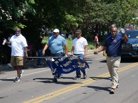 Juneteenth Parade Mason Chapter