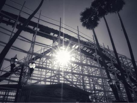 Eerie Boardwalk Rollercoaster