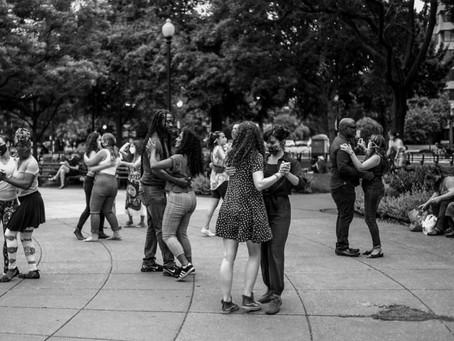 Dancing in Dupont Circle