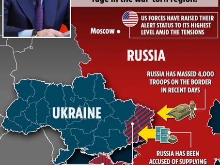 Putin Resolute About Borderlands