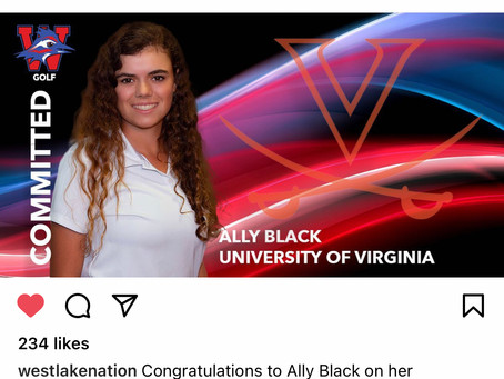 Ally Black Lady Chap Linkster to Virginia