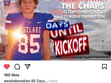 85 Days Until 2021 Chap Season Kickoff