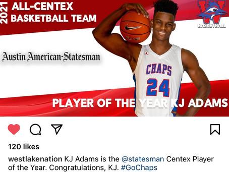 KJ Adams and Eain Mowat-Centrex Honors