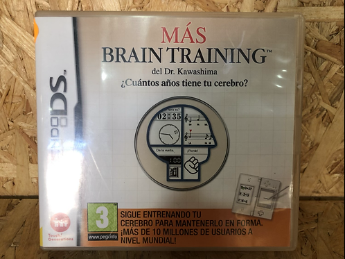 Nintendo Ds Más Brain Training